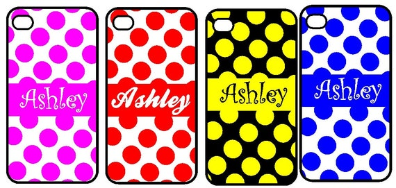 Personalized iPhone 4 covers, iPhone 4S, or iPhone 5 case, Custom made just the way you want it. Hard or rubber cases available