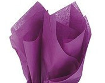 120 sheets of tissue paper -- PURPLE