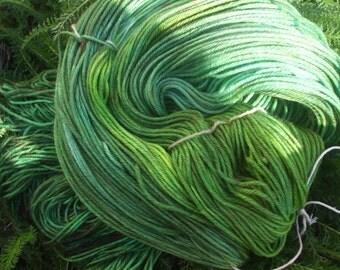 Forest Floor Sport Weight Superwash Merino Wool Yarn