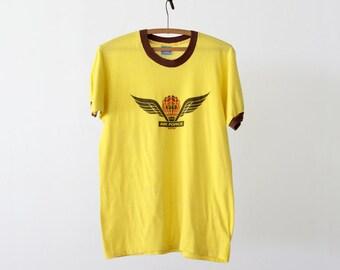 1980s KDKB radio ringer t-shirt, vintage music tee