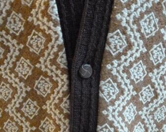1950's Atomic Man's Vintage Cardigan-Sweater-L