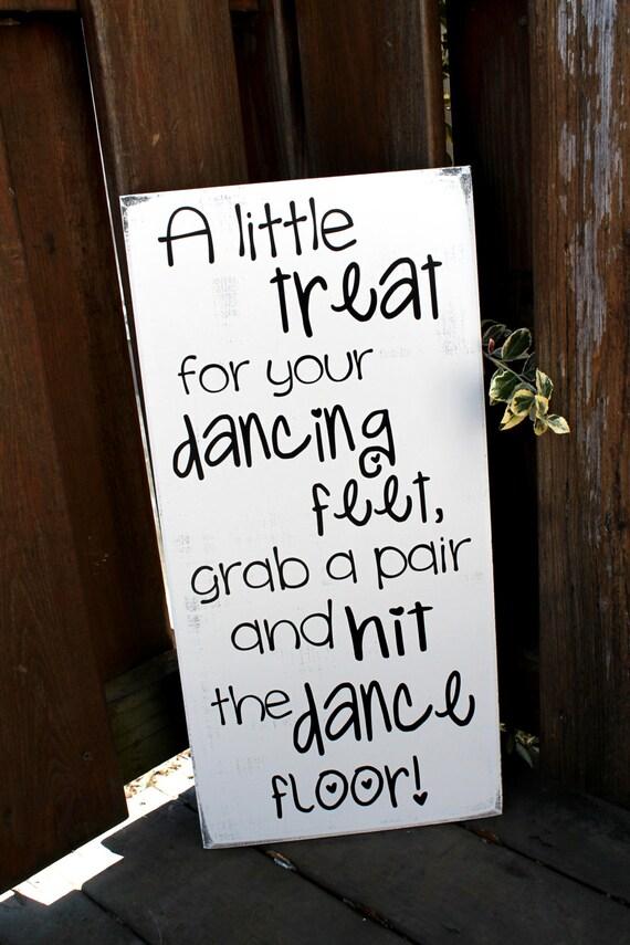 Flip Flop Sign 11 X 23 Wooden Wedding Sign A