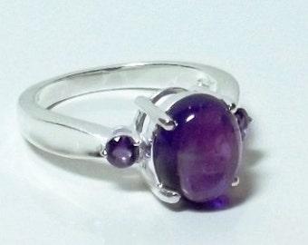 Amethyst (Ovl 2.50 Ct) Ring