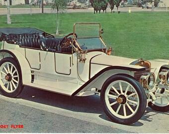 1911 Coey Flyer Vintage Postcard