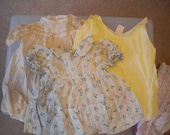 Vintage Handmade Doll Clothing (Large Sized Baby Dolls)