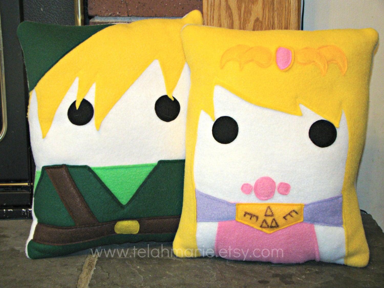 Zelda Throw Pillows : Zelda Legend of Zelda plush pillow throw pillow