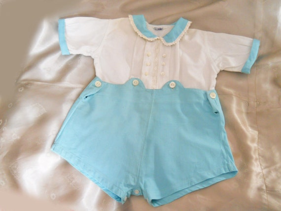 vintage baby clothes 40s baby boy