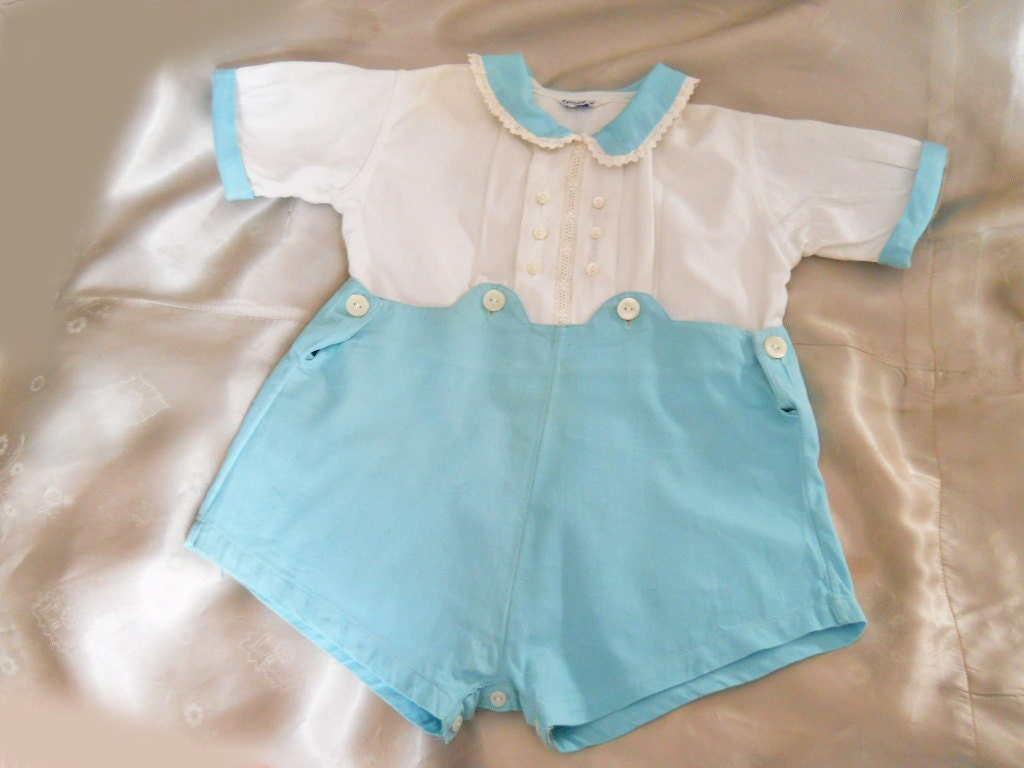 vintage baby clothes 40s baby boy