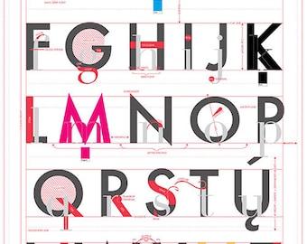 Alphabet of Typography (Print)