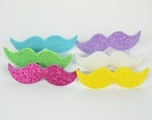 Mustache Shaped Beer Markers - Six Pack (Fancy Unicorn)