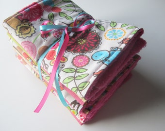 Burp cloth set - ready to ship