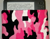 Pink Camouflage E-Reader Sleeve