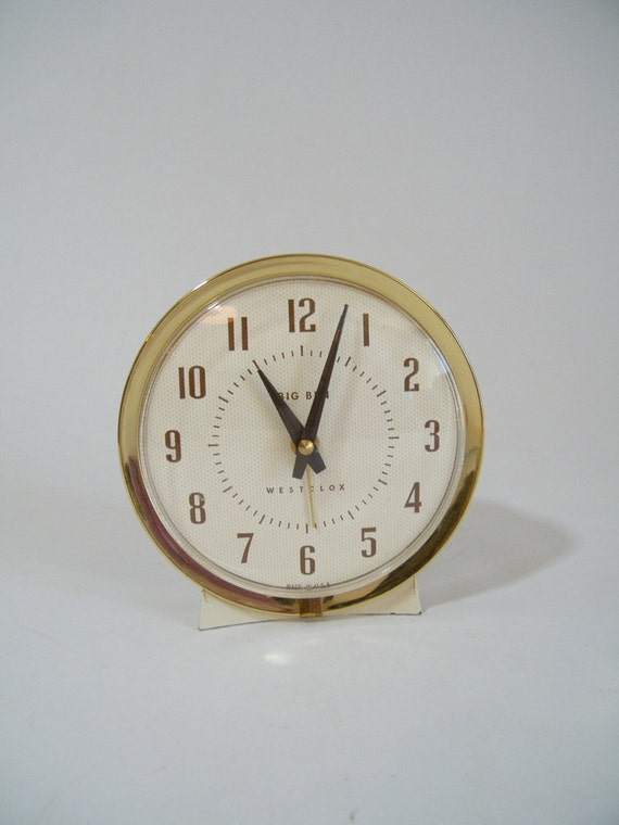 Vintage Westclox Big Ben Alarm Clock Wind Up 75 102