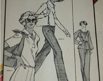 Stretch & Sew Vintage Pattern 701 Pants and shorts1