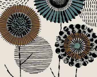 Printmaker Floral, limited edition giclee print