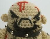 "CUSTOM GG Allin ""antigurumi"" - amigurumi crocheted figure (MATURE)"
