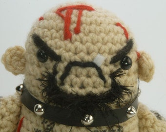"CUSTOM GG Allin ""antigurumi"" - amigurumi crocheted figure (MATURE)"