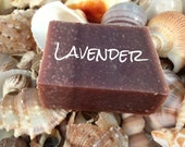 FREE SHIPPING w/a item - Lavender Soap, All Natural Soap, Handmade Soap