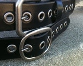 Black Eye Handcrafted Leather Belt