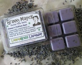 Lemongrass and Lavender Granny Herbal Wax Melts for Magick, Prayer, Spells or Ritual