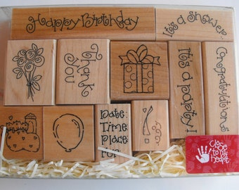 CTMH Close to my heart - Stamp Set - S440 Celebrations - Set 22