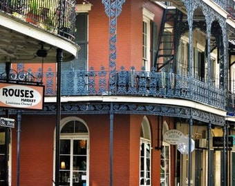 Great Travel Prints, New Orleans Art Print, French Quarter, French Quarter  Prints, New