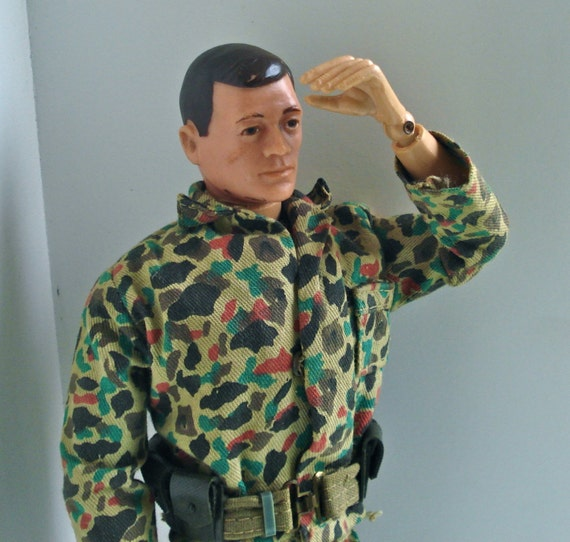 Vintage Gi Joe Doll 25