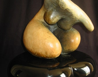 All Feminine - Bronze  with Stone finished patina