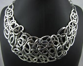 Silver Plated Collar Necklace