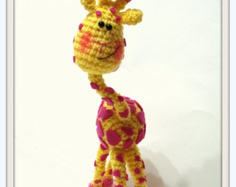 Pattern - INSTANT DOWNLOAD, Crochet Pattern, Amigurumi Giraffe Pattern, Crochet Giraffe, Toy Pattern, Amigurumi Pattern, Tutorial