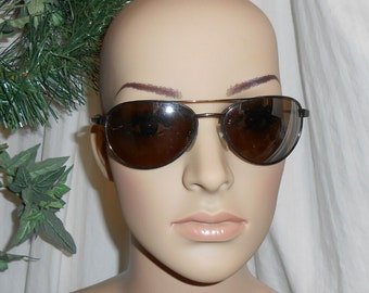 Vintage Panama Jack Aviator sunglasses mirror sunglasses reflective sunglasses
