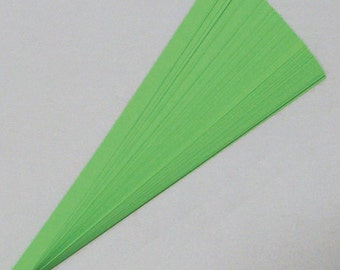 Emerald Green : Lucky Stars Paper Strips (100)