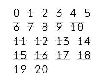 Numbers Custom