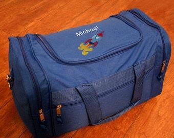 Personalized Duffel Bag - Rocketship