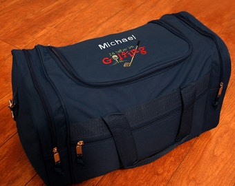 Personalized Duffel Bag - Rather Golf