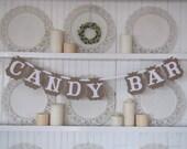 CANDY BAR Banner, Wedding Sign, Candy Bar Sign, Party Candy Bar, Candy Bar Display
