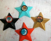 Customizable Vintage Lotteria Bottlecap Magnet