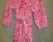 Girls Minky Soft Hooded Robe