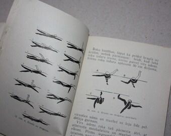 1965 Vintage Soviet Book - Teach Kids to Swim - Printed in USSR
