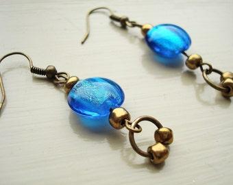 Brilliant Blue Earrings