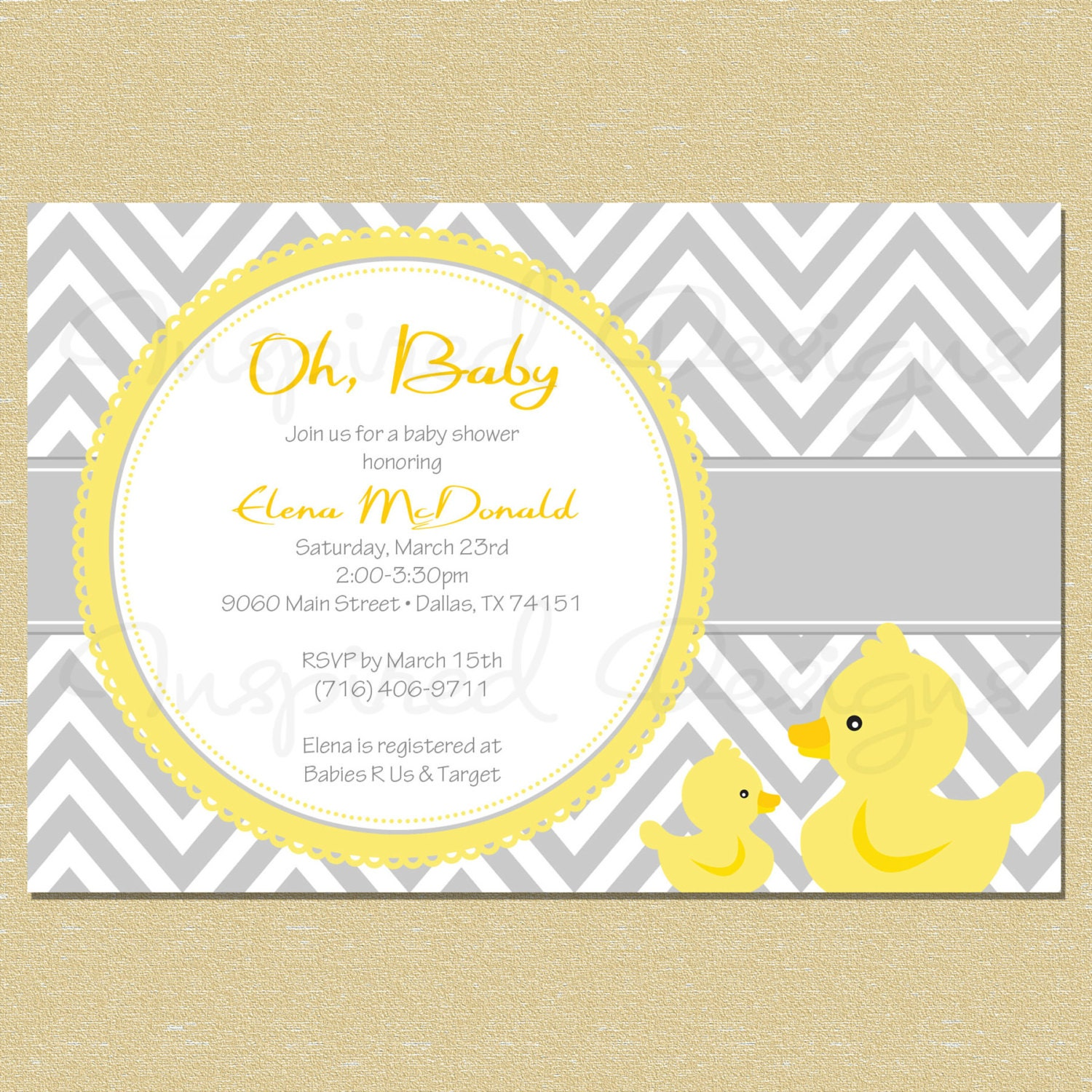 duck baby shower party package diy by littlemunchkinprints