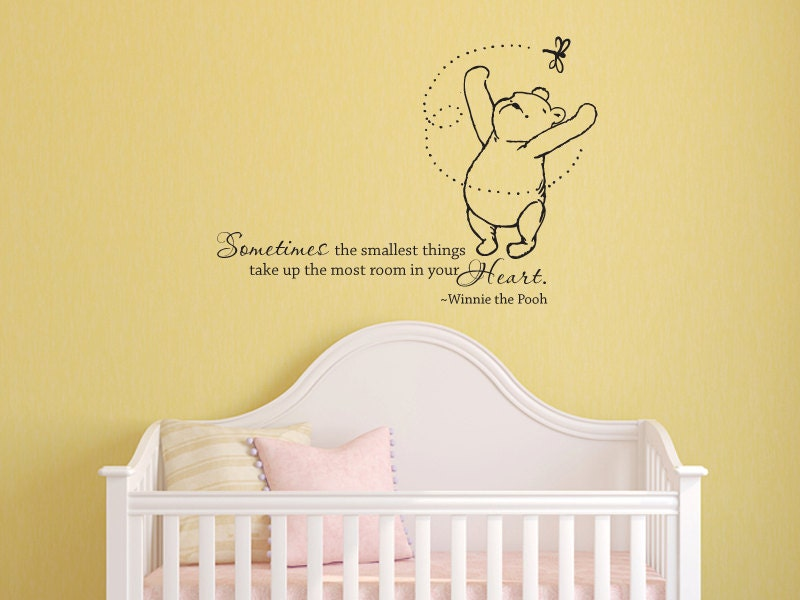 Classic Winnie The Pooh Sometimes The Smallest By