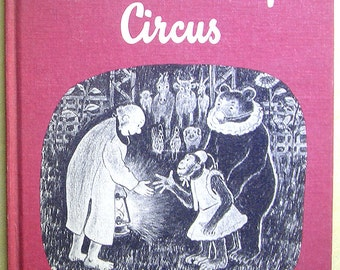 "Vintage Children's Book - ""Mister Penny's Circus"""