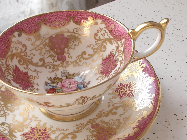 vintage cup: NEW 96 VINTAGE TEA CUP VALUES