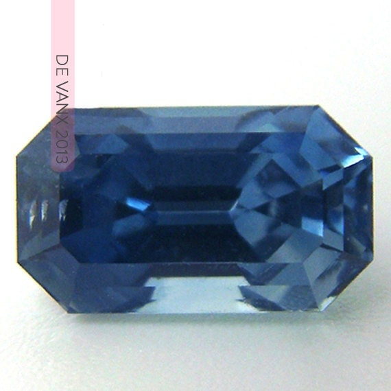 RESERVED 1.97ct Blue Grey Sapphire.  Conflict Free 100% Natural Nontreated Top Grade Saturated Color Sapphire.  Engagement Ring Ready.