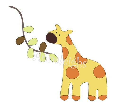 Items similar to Giraffe Applique Digital Pattern on Etsy