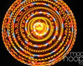 Element LED hoop, by Moodhoops