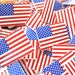 American Flag Novelty Craft Sewing Buttons Lot of 6
