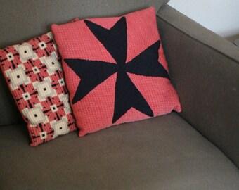 Pink Mid Century Pillows