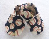 Baby Boy Baseball Shoes  / Navy Blue